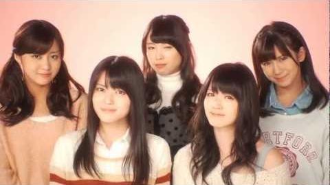 ℃-ute - Kimi wa Jitensha Watashi wa Densha de Kitaku (MV) (Group Lip Ver