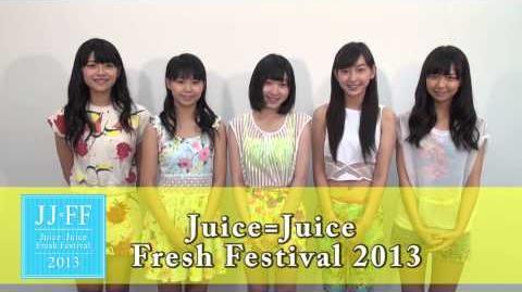 Juice=Juice Fresh Festival 2013開催決定!!