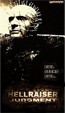 Hellraiser Judgment poster