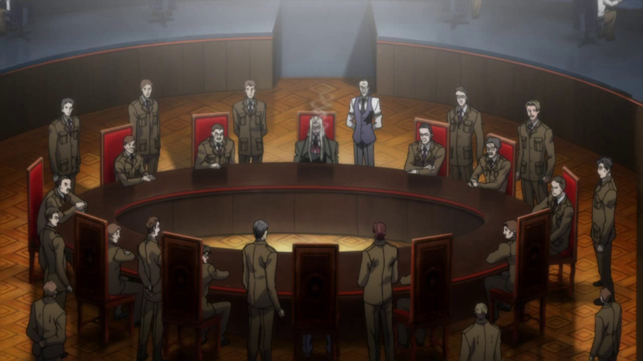The convention of twelve hellsing wiki fandom powered for 12 knights of the round table