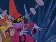 Snowflake kissed Orko