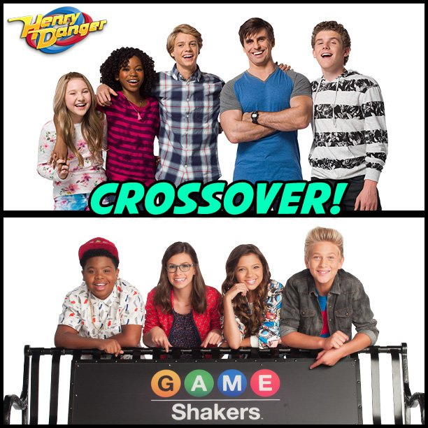 Henry Danger and Game Shakers Crossover
