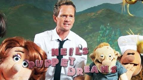 NEIL PATRICK HARRIS dreams THE RESTAURANT - Neil's Puppet Dreams