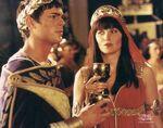 Caesar and Xena