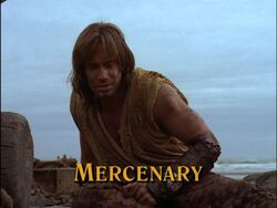 Mercenary Title Card