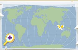 Phantom catfish location map