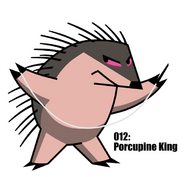 Porcupine King