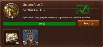 Golden Arse III