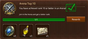 Arena Top 10