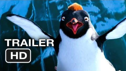 Happy Feet Two Official Trailer 3 - Robin Williams Movie (2011) HD