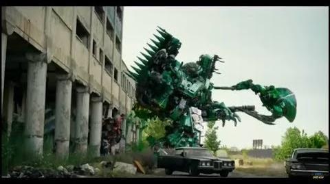 "Transformers 5 - ""Drift vs Onslaught"" TV Spot"