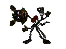 Adventure phantom mangle full body by joltgametravel-d9e8fk2