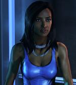 Maya Brook Evil Face