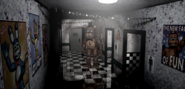 FNAF 2 Freddy is Out