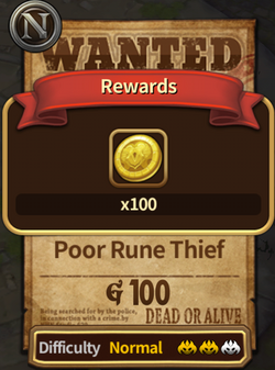 Poor Rune Thief Completed Image