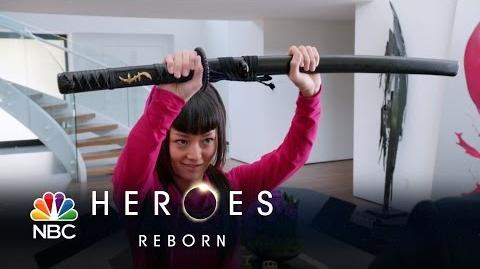 Heroes Reborn - Katana Girl Saves the Day (Episode Highlight)