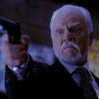 Linderman with a gun
