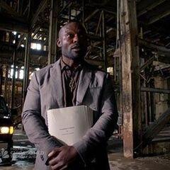 Rene at warehouse