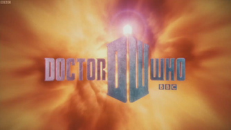 Doctor who title card