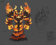 Ragnaros Master skin concept