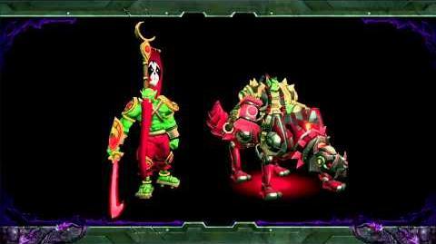 Blizzard DotA Character Design