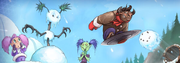 Heroes Brawl - Snow Brawl
