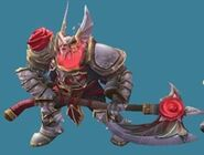 Knight-Red Flower