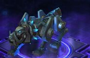 Cyber Wolf - Dark Blue