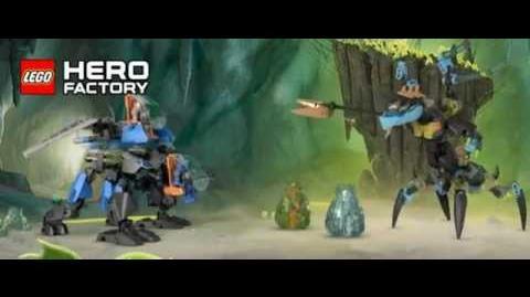 LEGO® Hero Factory - Surge & Rocka Combat Machine vs Queen Beast