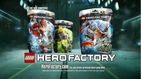 LEGO® Hero Factory - Furno vs Jawblade Advert HD