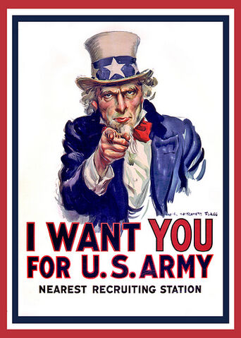 File:Uncle Sam I Want You - Poster White Background.jpg