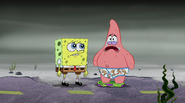 Spongebob & Patrick in a hopeless situation