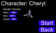 V0.001 Character Select
