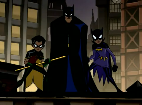 File:Batman, Robin and Batgirl.png