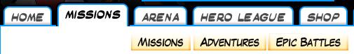 Missions tab