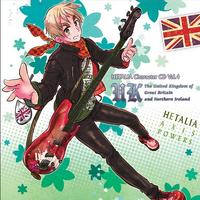 Hetalia England CD