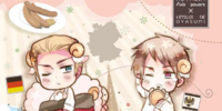 Hetalia x Goodnight with Sheep Vol. 2- Germany & Prussia
