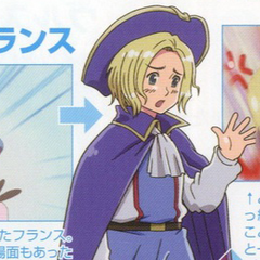 Young France in the anime.