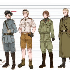 Prussia in African War Front uniform.