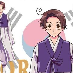 South Korea's unused anime design.