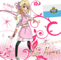 San Marino Cover CD