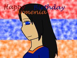 Happy birthday armenia by hayley566-d4aja8c