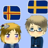 Aland and Sweden