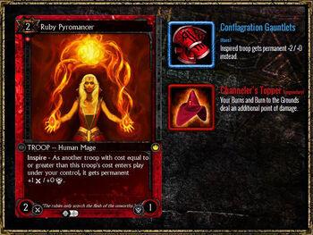 RubyPyromancer Equipment
