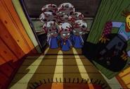 Aliens at the door