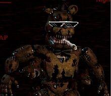 Nightmare Freddy Fuckboy