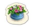 I DecoPottedFlowerBlue