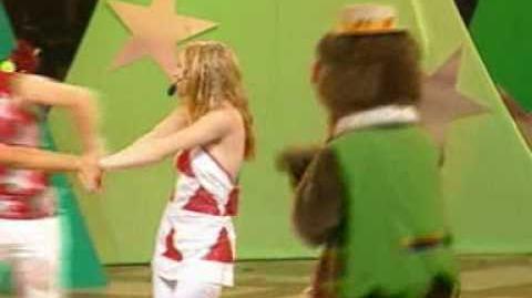 Hi-5 Xmas Concert 2002 - Rudolph the red nose reindeer