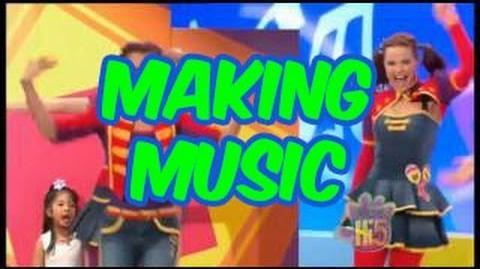 Making Music - Hi-5 - Season 13 Song of the Week