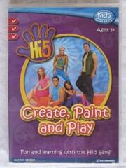 Hi-5 Create, Paint And Play game